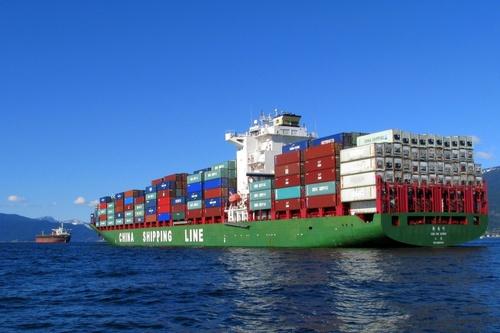 Ships at anchor, English Bay Vancouver