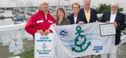 Clean Marine BC certified Royal Vancouver Yacht Club - Jericho