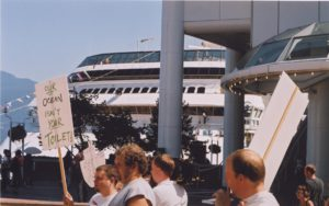 RCCL Demo at Canada Place 1