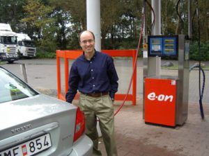 Stephen Salter using biogas in Sweden