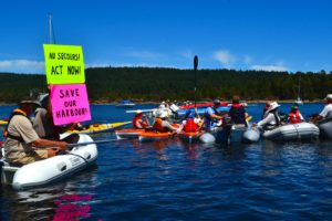 Concern for our Harbour flotilla