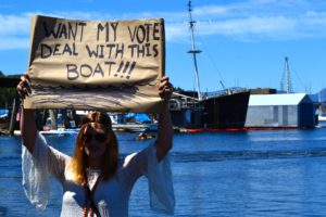 Want my vote? Deal with this boat!!!