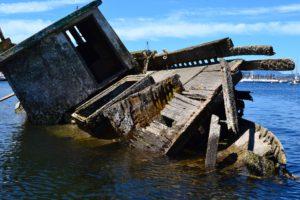 Derelict vessel Arbutus Isle
