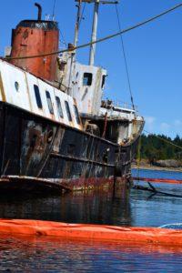Derelict vessel Viki Lyne II
