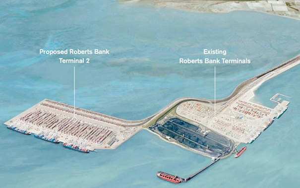 Proposed T2 Deltaport expansion