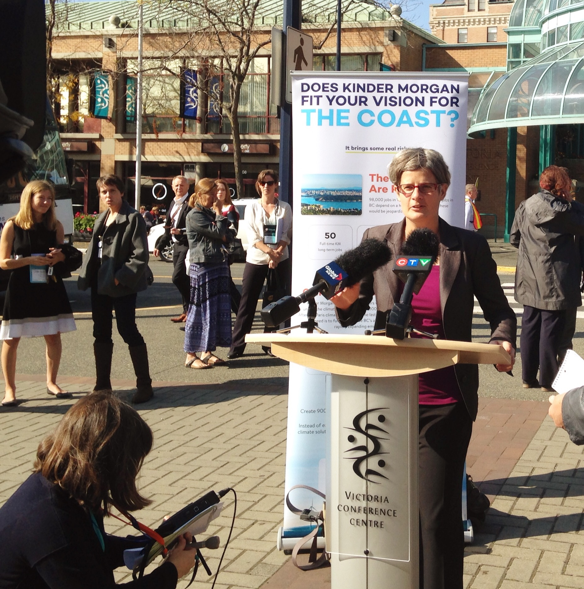 Lisa Helps Mayors press conference KM
