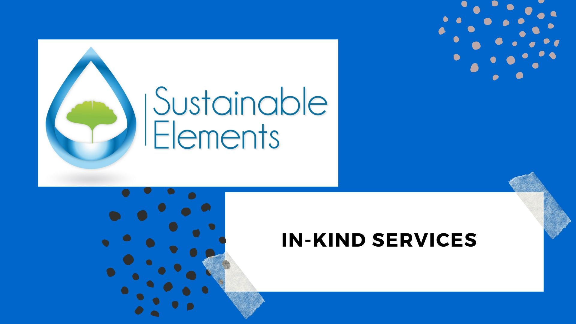 Sustainable Elements