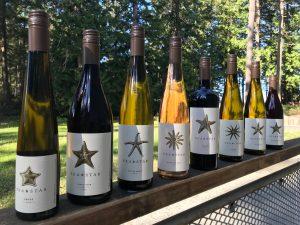 Sea Star Wine selection
